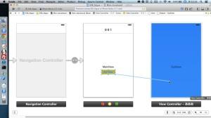 【Xcodeメモ】(008)ボタンクリックで画面遷移