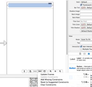 【Xcodeメモ】(006)Navigation Barとステータスバーの重なりを防ぐ