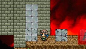 Box2Dで壊れる岩