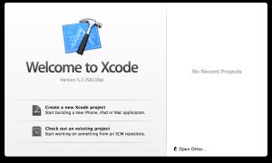 【Xcodeメモ】(002)新規プロジェクトの作成