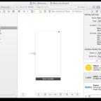 【Xcodeメモ】(003)画面にオブジェクトを配置