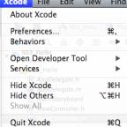 【Xcodeメモ】(005)エディタの行番号表示